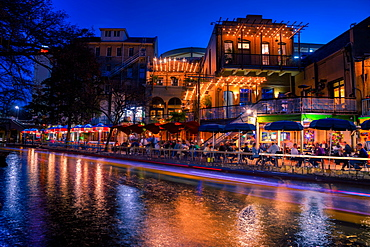 San Antonio Riverwalk, San Antonio, Texas, United States of America, North America