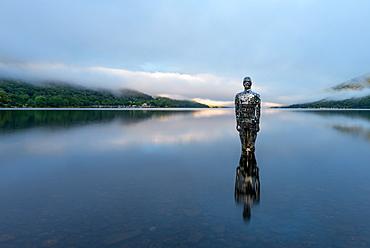 Mirror Man of Loch Earn, Highlands, Scotland, United Kingdom, Europe
