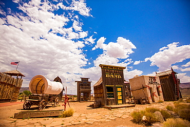 Ghost town, Virgin Trading Post, Utah, United States of America, North America