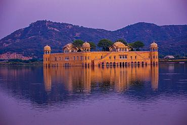 Jal Mahal Floating Lake Palace, Jaipur, Rajasthan, India, Asia