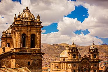 City skyline of Cusco, Peru, South America