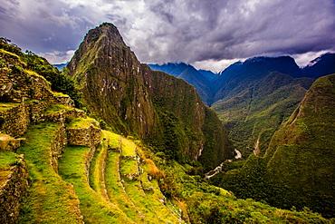 Machu Picchu Incan Ruins, UNESCO World Heritage Site, Sacred Valley, Peru, South America