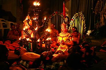 Kecak dance, Ubud, Bali, Indonesia, Southeast Asia, Asia