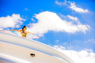Sailing in the Galapagos Islands, Ecuador, South America