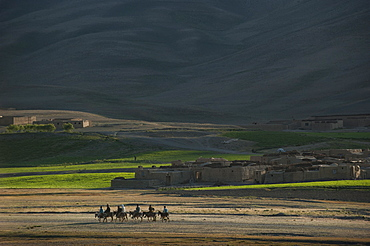 A small village in Bamiyan province, Afghanistan, Asia