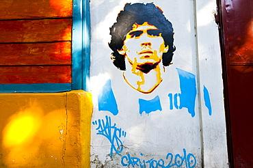Diego Maradona is a legend in Argentina, South America