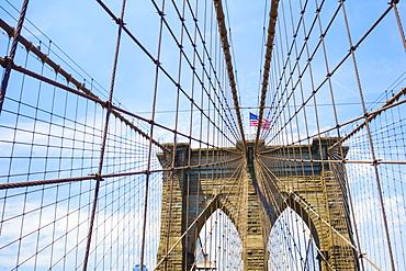 Brooklyn Bridge, New York City, United States of America, North America