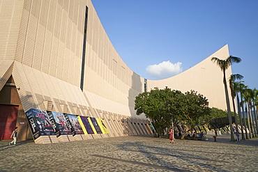 Hong Kong Cultural Centre, Tsim Sha Tsui, Kowloon, Hong Kong, China, Asia