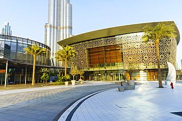 Dubai Opera, a 2000 seat performing arts centre, Dubai, United Arab Emirates, Middle East