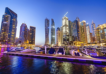 Dubai Marina, Dubai, United Arab Emirates, Middle East