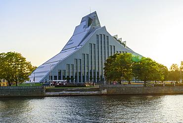 National Library, Riga, Latvia, Europe