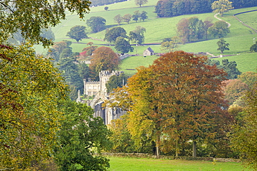 Bolton Abbey beside the River Wharfe, Wharfedale, The Yorkshire Dales National Park, England, United Kingdom, Europe
