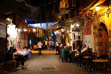 Bab Touma neighbourhood of Damascus old city, Damascus, Syria, Middle East - 1234-2