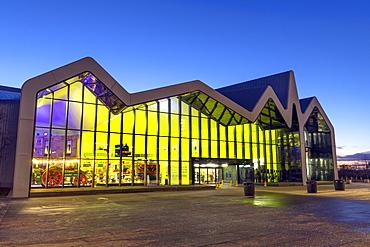Riverside Museum, Glasgow, Scotland, United Kingdom, Europe