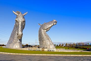 The Kelpies, The Helix Park, Falkirk, Scotland, United Kingdom, Europe