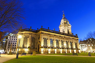 St. Philip's, Birmingham Cathedral, Grade 1 listed building, Jewellery Quarter, Birmingham, England, United Kingdom, Europe