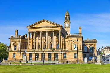 Paisley Town Hall, Renfrewshire, Scotland, United Kingdom, Europe