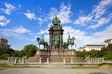 Maria Theresa Monument, Maria-Theresien-Platz, Vienna, Austria, Europe