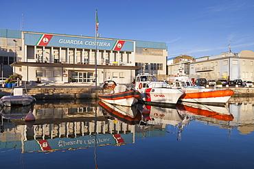 Coast Guard (Guardia Costiera), Viareggio, Tuscany, Italy, Europe