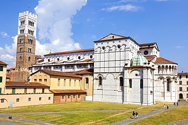 St. Martin's Cathedral (Duomo di San Martino), Lucca, Tuscany, Italy, Europe