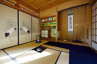 Kobun-tei tea room in Shoren-in temple, Kyoto, Japan, Asia