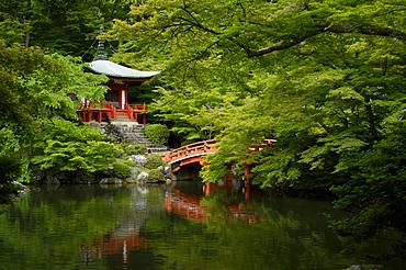 The Bentendo hall of Daigo-ji temple, UNESCO World Heritage Site, Kyoto, Japan, Asia