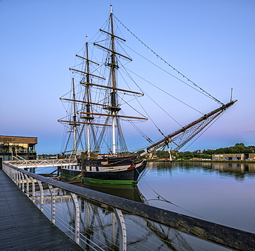 Dunbrody Famine Ship, County Wexford, Leinster, Republic of Ireland, Europe