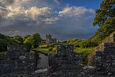 Tintern Abbey, County Wexford, Leinster, Republic of Ireland, Europe