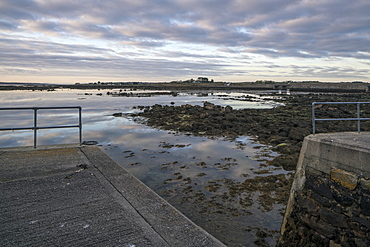 Carrickalegaun Bridge, Gorumna Island, Connemara, County Galway, Connacht, Republic of Ireland, Europe
