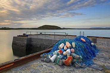 Bunowen Pier, Ballyconneely, Connemara, County Galway, Connacht, Republic of Ireland, Europe