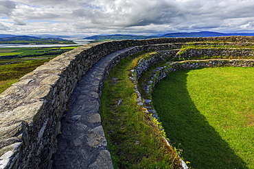 An Grianan of Aileach, Inishowen, County Donegal, Ulster, Republic of Ireland, Europe