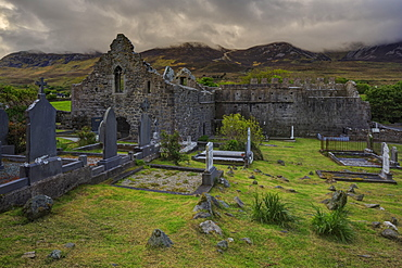Murrisk Abbey, County Mayo, Connacht, Republic of Ireland, Europe