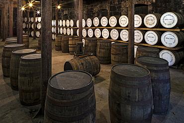 Bushmills Distillery, County Antrim, Ulster, Northern Ireland, United Kingdom, Europe