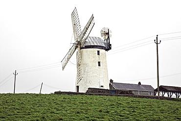Ballycopeland Windmill, County Down, Ulster, Northern Ireland, United Kingdom, Europe