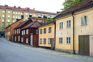 Historic homes in Nytorget, Sodermalm, Stockholm, Sweden, Scandinavia, Europe