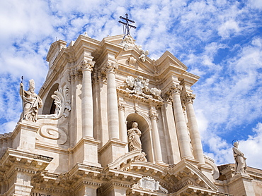 Siracusa Cathedral, Syracuse, UNESCO World Heritage Site, Sicily, Italy, Europe
