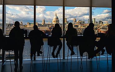 St. Paul's and London skyline, London, England, United Kingdom, Europe