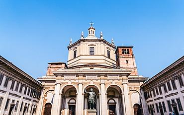Basilica of San Lorenzo church, Milan, Lombardy, Italy, Europe
