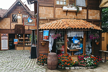 Penedo, settled by Finnish immigrants in 1929, the touristic town maintains its distinctive heritage, Rio de Janeiro State, Brazil, South America