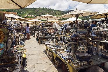 Flea market in Ouro Preto, Minas Gerais, Brazil, South America