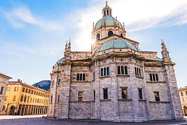 The Cattedrale di Santa Maria Assunta, Duomo di Como, located near Lake Como, Lombardy, Italy, Europe