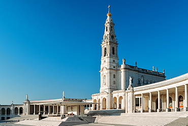 The Sanctuary of Fatima (Basilica of Our Lady of Fatima), Portugal, Europe