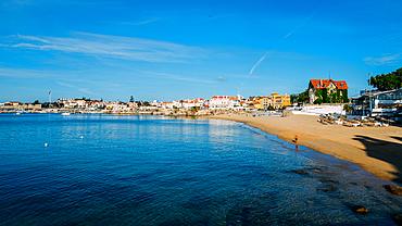 Conceicao Beach in Cascais, Lisbon region, Costa Verde, Portuguese Riviera, Portugal, Europe - 1243-369
