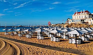 Conceicao Beach in Cascais, Lisbon region, Costa Verde, Portuguese Riviera, Portugal, Europe - 1243-370