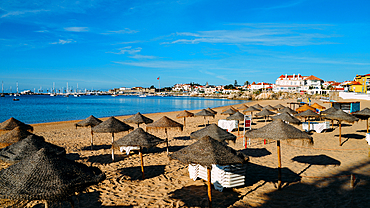 Conceicao Beach in Cascais, Lisbon region, Costa Verde, Portuguese Riviera, Portugal, Europe - 1243-371