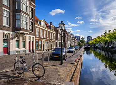 Zuidwal Canal, The Hague, South Holland, The Netherlands, Europe