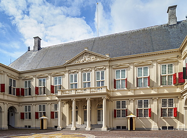 Noordeinde Palace, The Hague, South Holland, The Netherlands, Europe