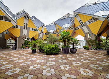 Cube Houses, Rotterdam, South Holland, The Netherlands, Europe