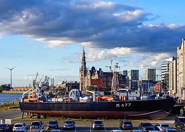 Loodsgebouw, Pilotage Building, Antwerp, Belgium, Europe