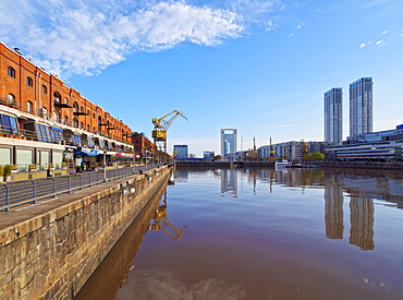 View of Puerto Madero, City of Buenos Aires, Buenos Aires Province, Argentina, South America